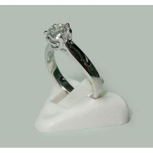 1.31 carat Diamond solitaire ring white gold